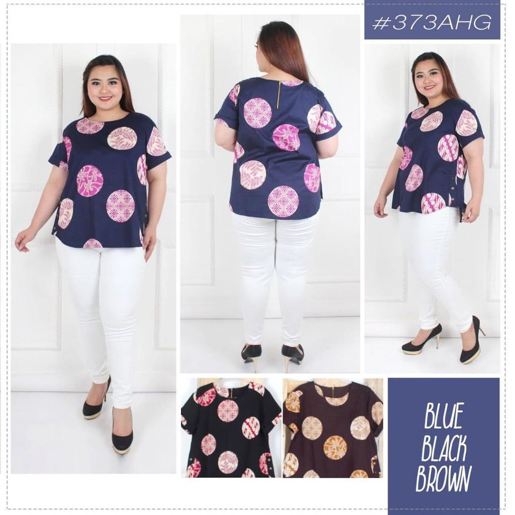 Terbaru Blouse Denim turkish atasan baju wanita jumbo big size xxxl Harga Terbaik | Shopee Indonesia