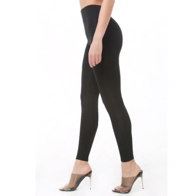 Forever 21 Legging Leggings Black Wanita Original Murah Shopee Indonesia