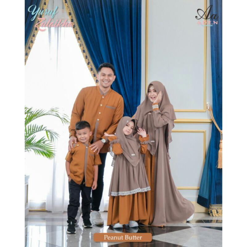 Sarimbit Yusuf Zulaikha by Aden Hijab (Pree Order)