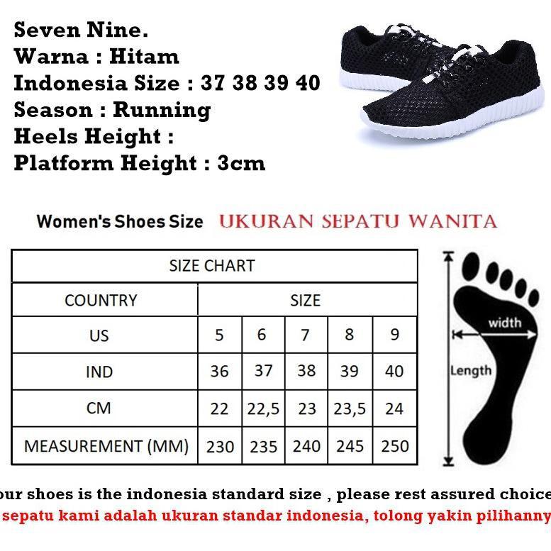 Bigsale Sepatu Wanita Sekolah Nike Full Black Hitam Anak Pria Wanita Cewe  Perempuan Murah Grosir  71060af54f