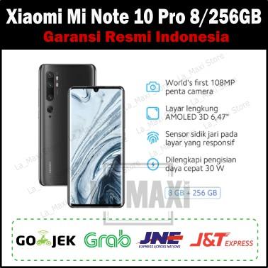 Xiaomi Mi Note 10 Pro 8 256gb Ram 8gb 256gb Garansi Resmi Indonesia Shopee Indonesia