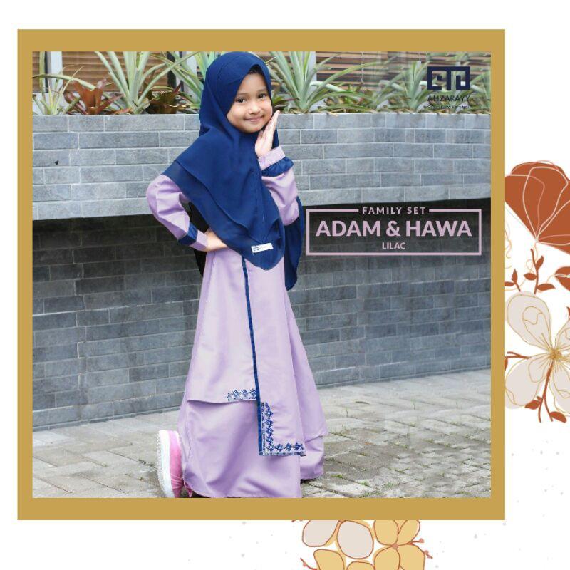 GAMIS ANAK AHZARAYY HAWA LILAC BABY XL SPESIAL