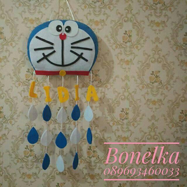 Hiasan Dinding Hiasan Pintu Hiasan Kamar Karakter Doraemon Cloud