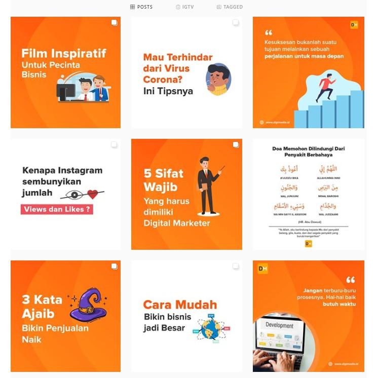 Desain Instagram Feed Stories Jasa Desain Murah Shopee Indonesia