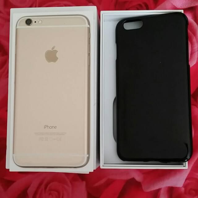 Apple IPhone 6 Plus 64GB White Gold Bekas Kondisi Mulus Harga Murah 142ce5ea77