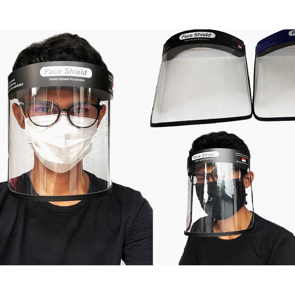Penggunaan Face Shield Yang Benar