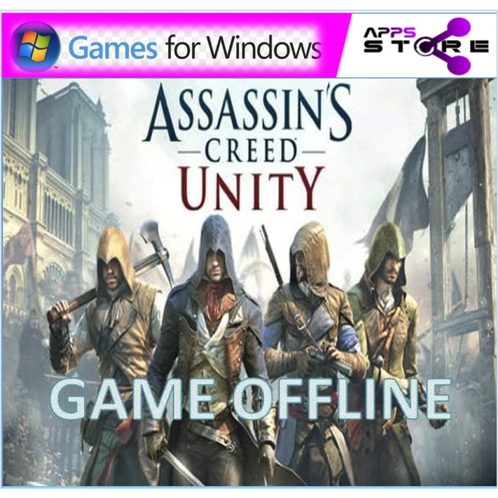 Assassins Creed Unity Complete Edition For Game Pc Offline