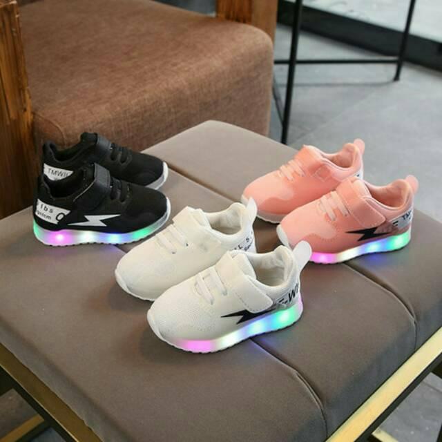 Sepatu Anak 21-30 Lightning LED Sneaker