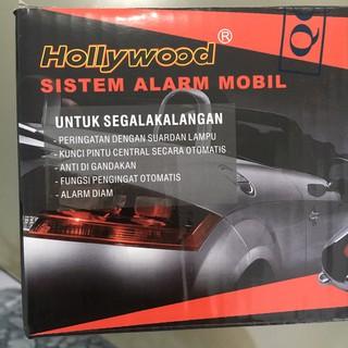 ... merek hollywood / sistem alarm mobil universal / remote set mobil honda suzuki toyota. suka: 7