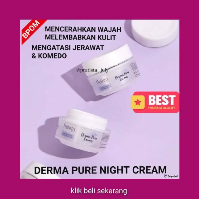 Ponds Night Cream Untuk Menghilangkan Bekas Jerawat
