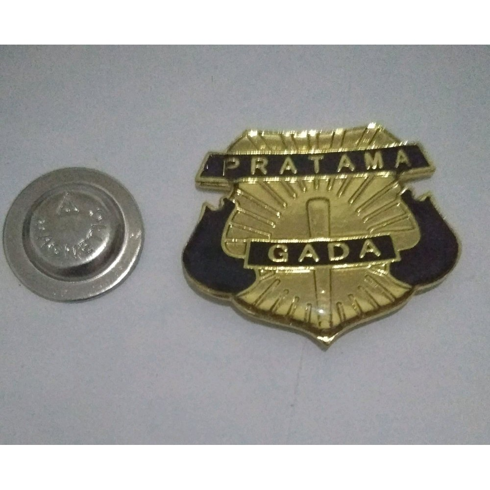 Pin Gada Pratama Madya Utama Shopee Indonesia Lampu Tembak 2mata Sj0021