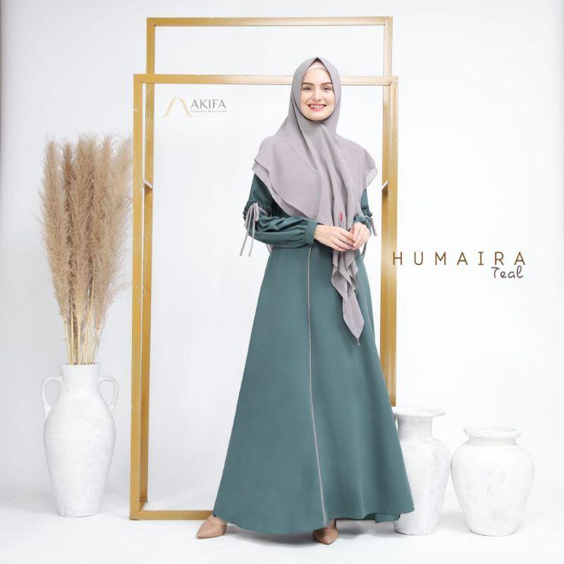 HUMAIRA DRESS SET EKSKLUSIF ORIGINAL AKIFA MUSLIMAH LIMITED EDITION