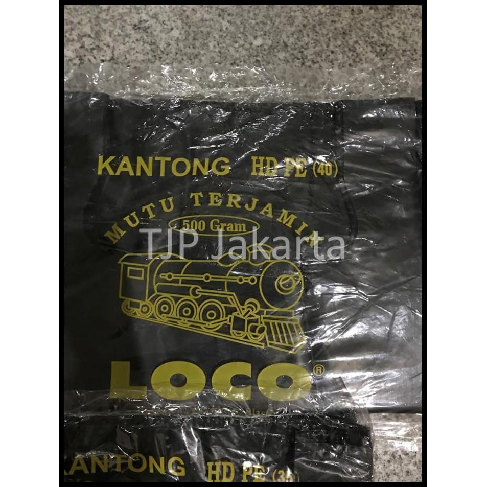 Kantong Plastik Kresek Loco Tebal Merah Berbagai Macam Ukuran Hd Pe 17 Shopee Indonesia