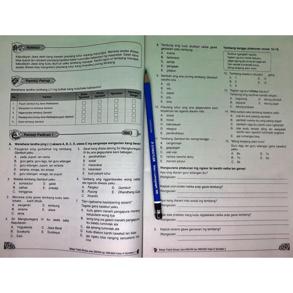 Lks Bahasa Jawa Sma Ma Kelas Xi 11 Semester 2 Viva Pakarindo Shopee Indonesia