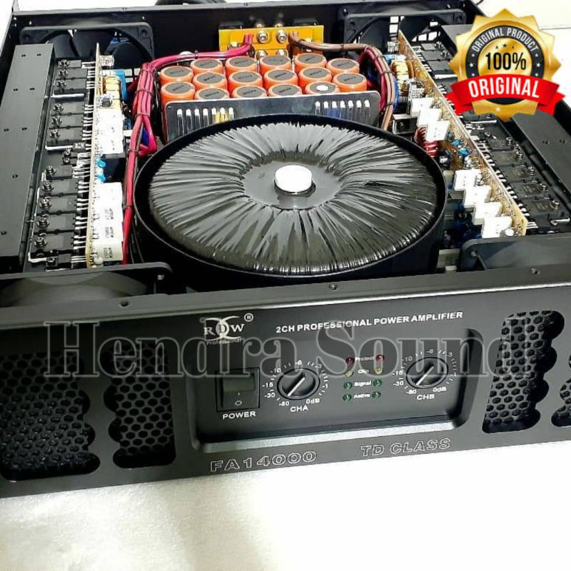 Power Amplifier RDW FA 14000 Class TD