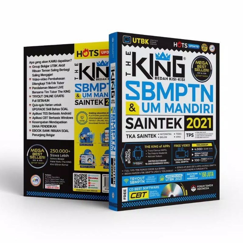 PRELOVED || THE KING SBMPTN & UM MANDIRI SAINTEK 2021 ~  DRILLING