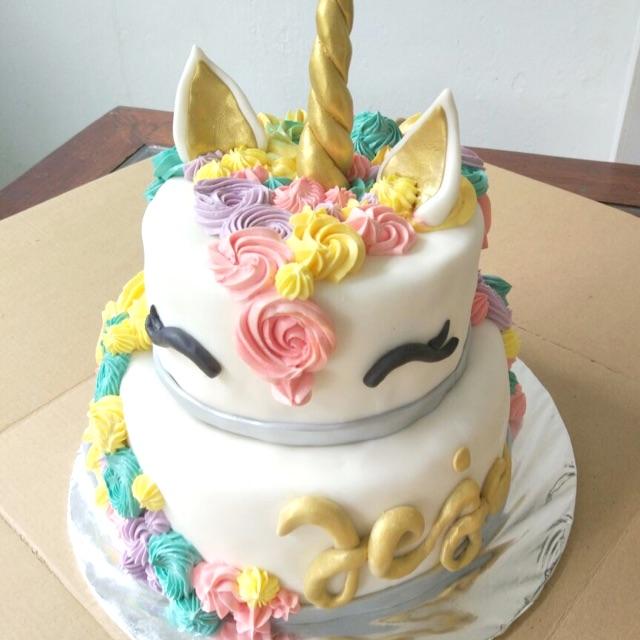 Kue Ulang Tahun Unicorn