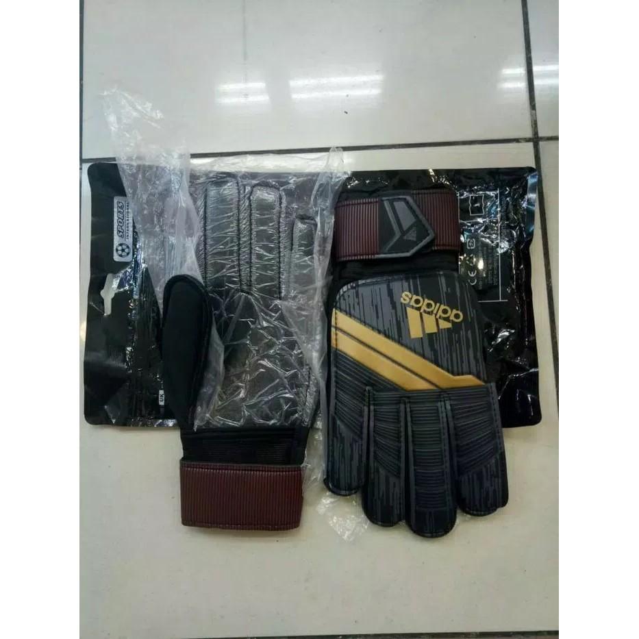 ... Sarung Tangan Kiper / Gloves Adidas Predator Black Official Grade ORI ...