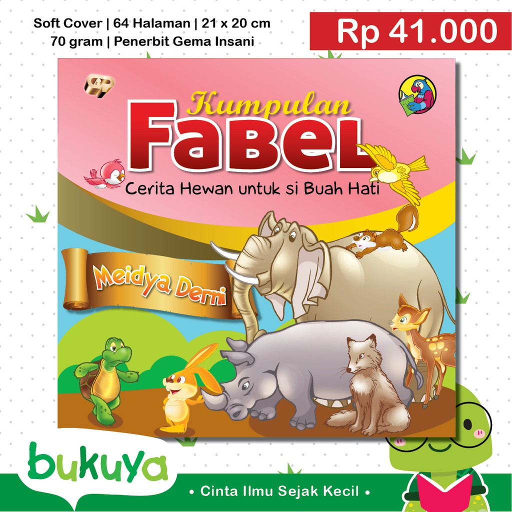 Buku Anak Cerita Fabel Persahabatan Gajah Dan Semut Shopee Indonesia
