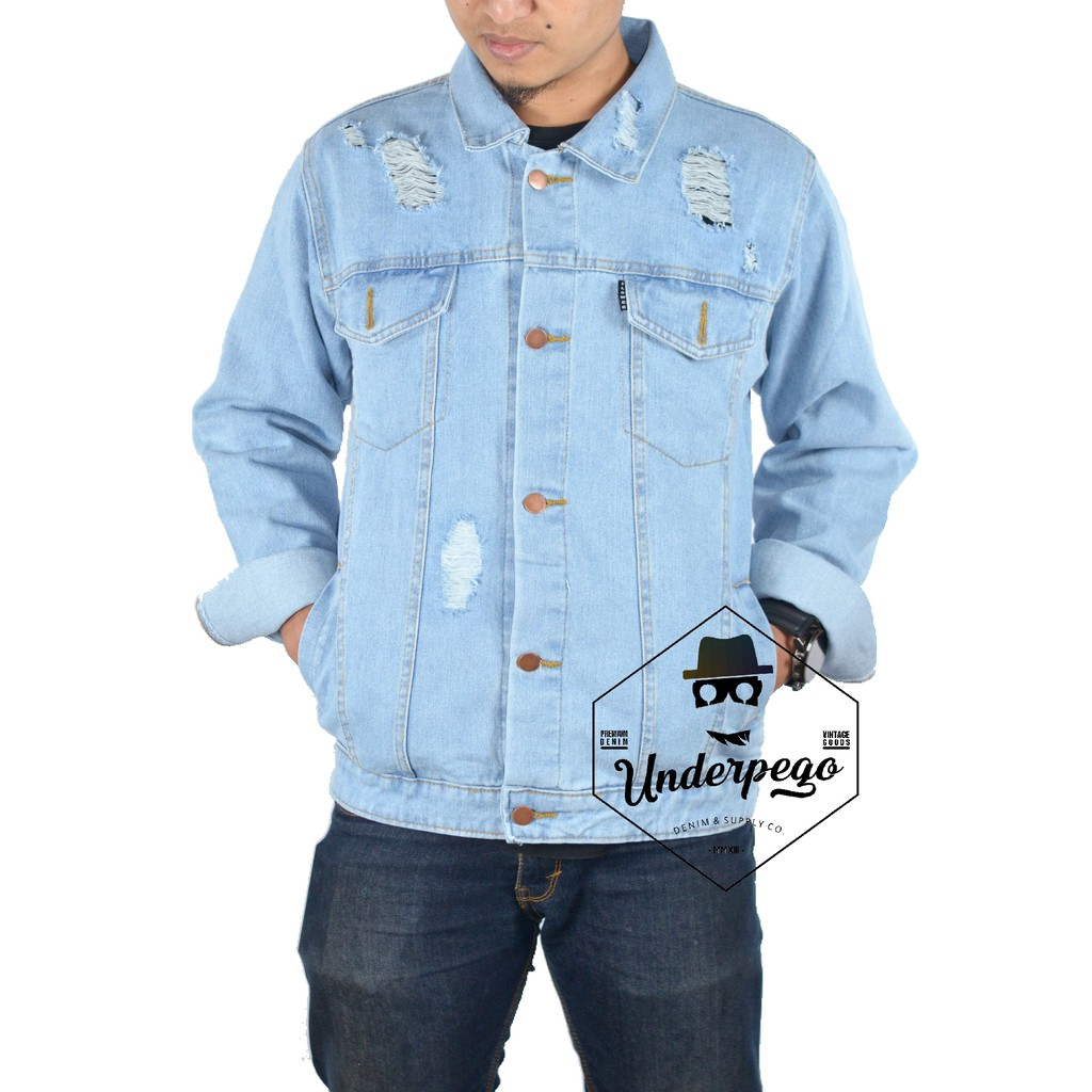 Jaket denim hoodie   jaket jeans hoodie SKU05  9a06873bfa