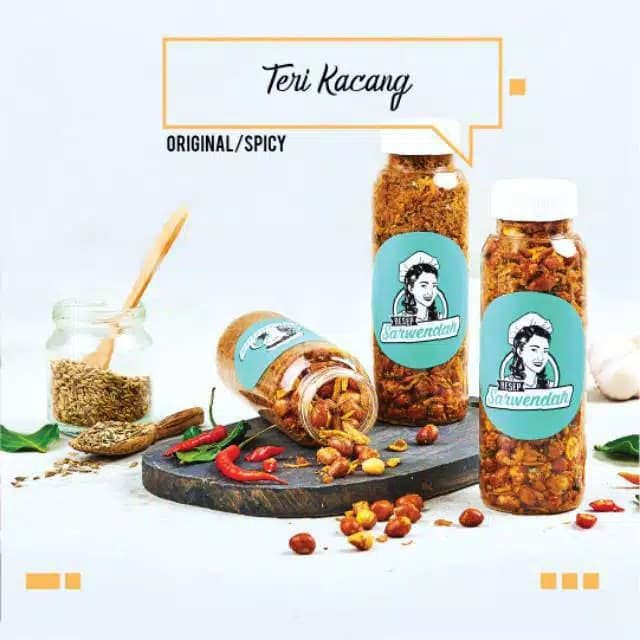 Resep Sarwendah Teri Kacang Original Spicy 150gr Crispy Kriuk Shopee Indonesia