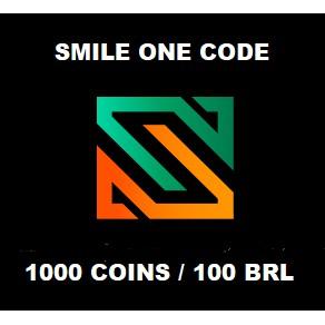 SMILE ONE CODE 1000 COINS 100 BRL KODE