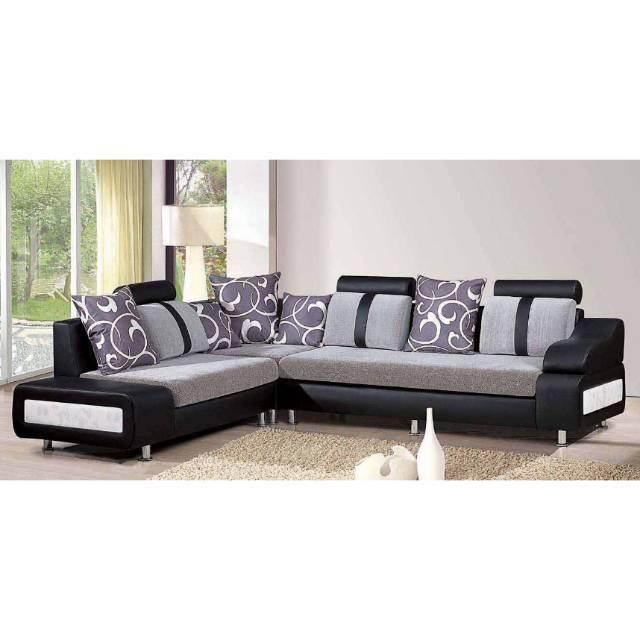 Sofa L Sudut Lux Custoom Sho