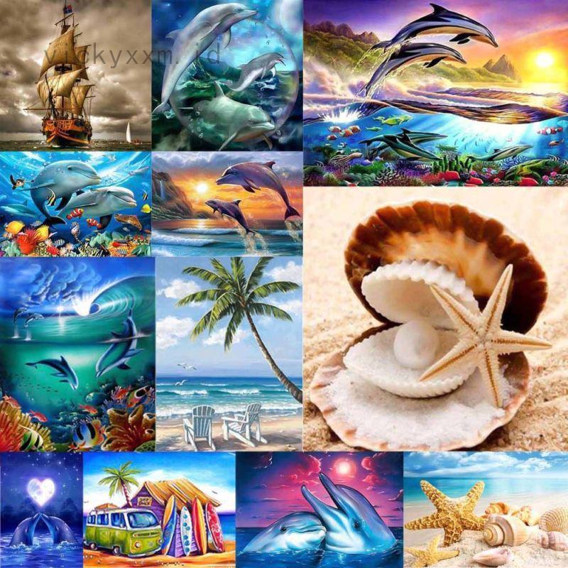 730 Koleksi Contoh Lukisan Pemandangan Laut Gratis Terbaru
