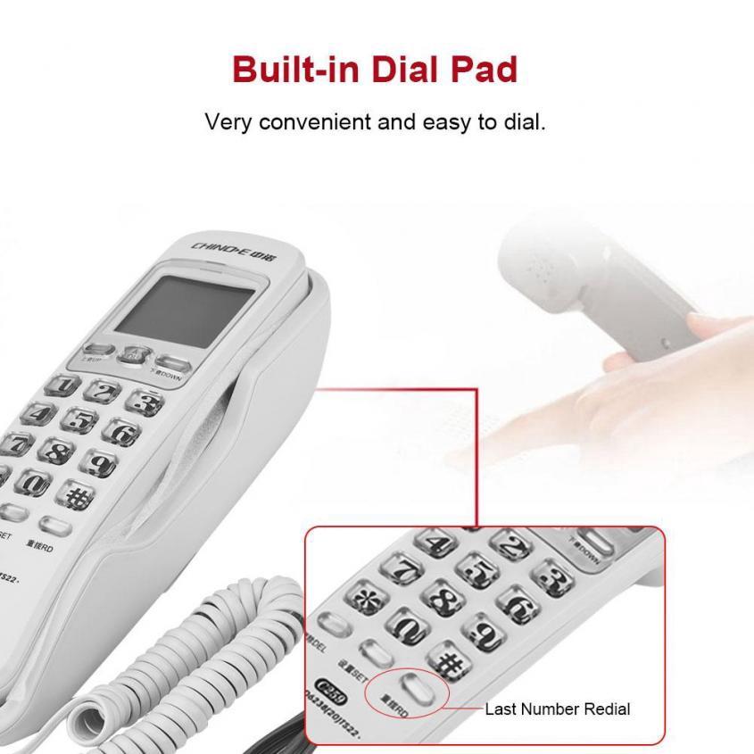 Telepon Dinding Portable Untuk Di Rumah Kantor Hotel Shopee Indonesia