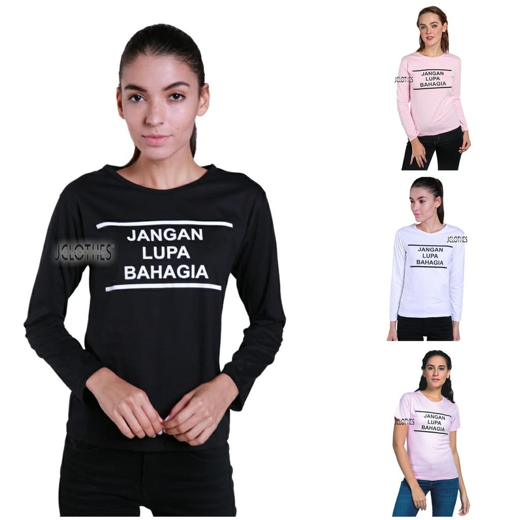 Tee / Kaos Cewek / T-Shirt Wanita Kelles - Putih.