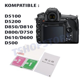 Tempered Glass Anti Gores Nikon D850 D810 D800 D750 D610