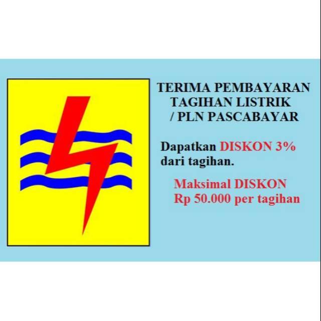 Bayar Pln Pascabayar Pln Bulanan Diskon 3 Shopee Indonesia