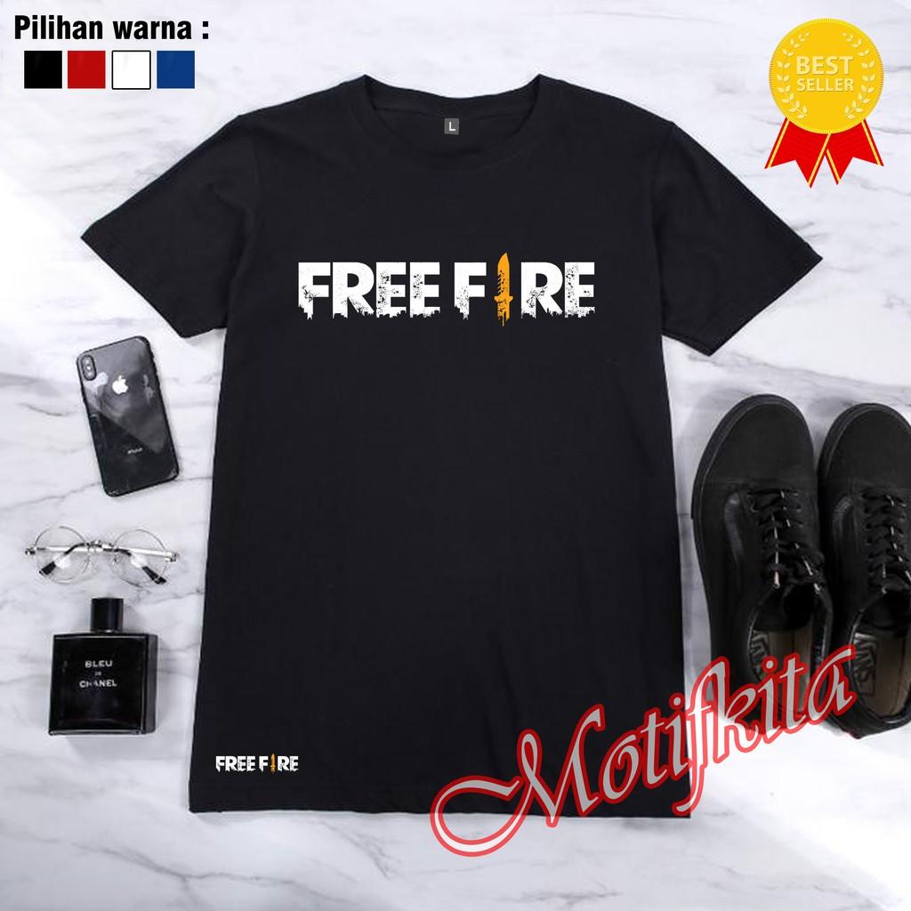 Baju Kaos Free Fire Ff Freefire Keren Pria Wanita Custom Distro Mk New Shopee Indonesia