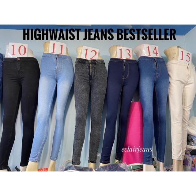 8 Warna Celana Highwaist High Rise Skinny Jeans Wanita Jsk 1910 1902 1904 1912 1950 1951 1915 1101 Shopee Indonesia