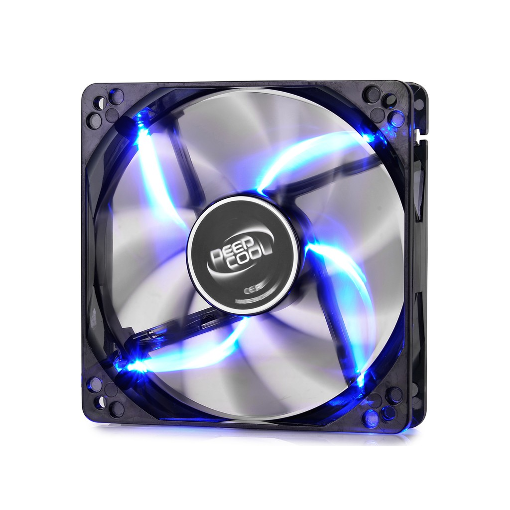 Deepcool Hydro Bearing Fan With Red Led Wind Blade 120 Black Segotep Casing Yf 12 12cm Blue Shopee Indonesia
