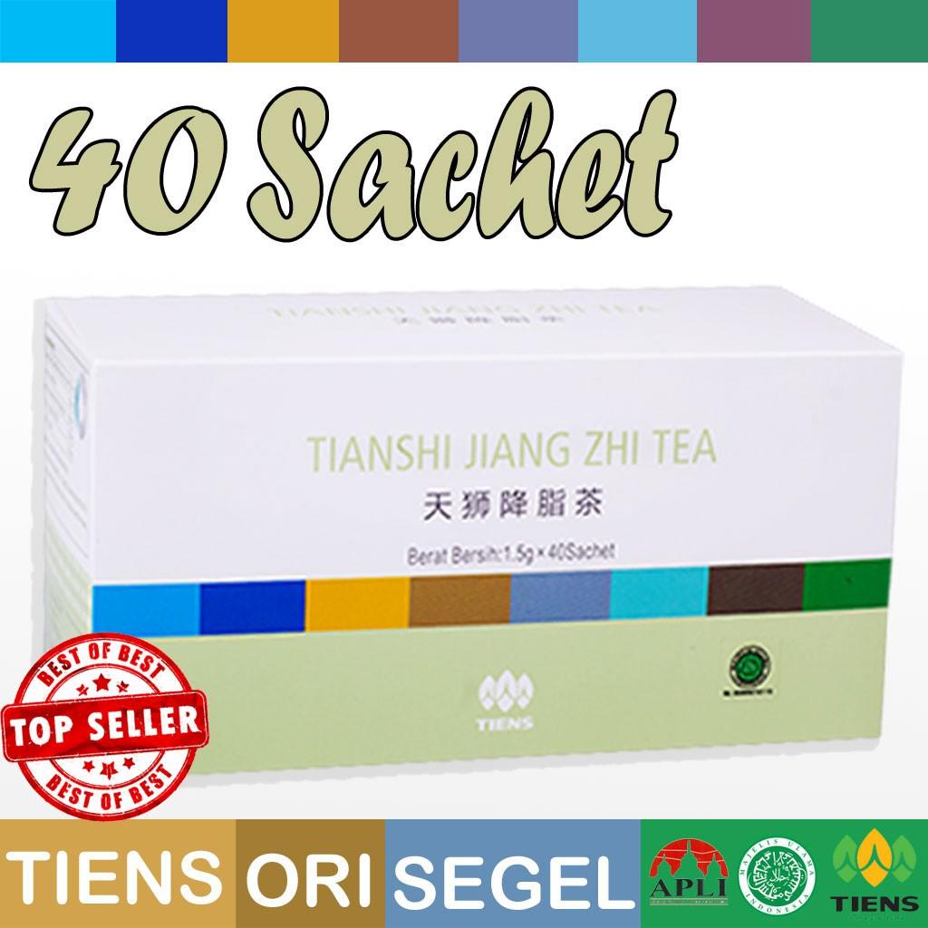 Tianshi Jiang Zhi Tea Isi 40 Sachet Teh Hijau Herbal Diet Tiens Asam Urat Pelangsing Badan Shopee Indonesia
