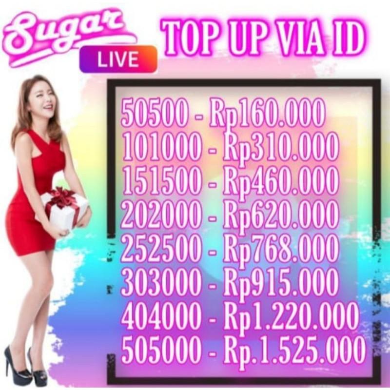 Sugar Live VIA ID Proses Secepat Kilat