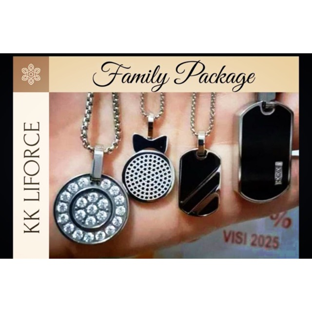 Paket Family 4pcs KK Liforce SWAROVSKI