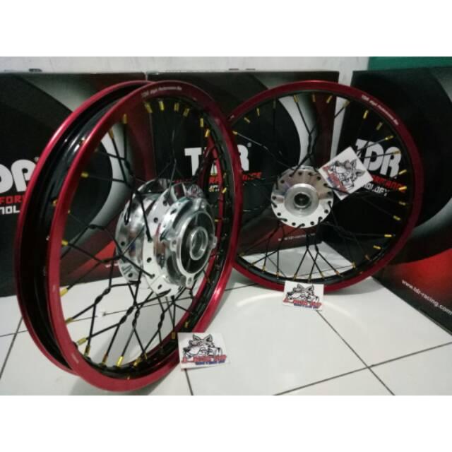 Sepaket Velg Tdr Tromol Set Jari Jari Cb 150 Cbr 150 Cb150 R Cbr150 R Setel Pelintir Kepang Shopee Indonesia