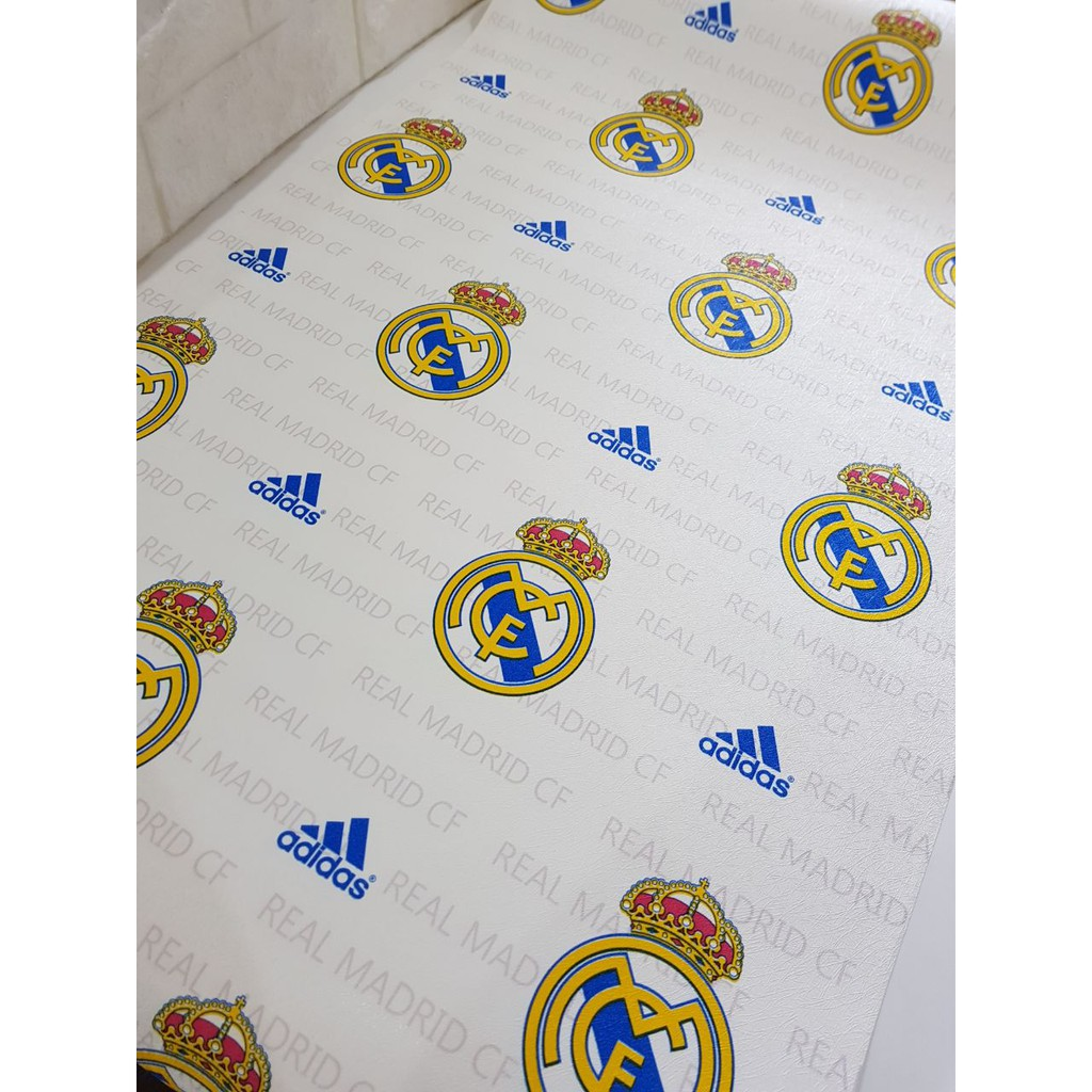 Wallpaper Dinding Murah Bukan Stiker Real Madrid 4405 1