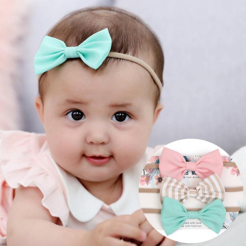 Newborn Headwrap Fabric Headwrap White, Black, Cow Baby Girl Headwrap Toddler Headwrap headwrap TRIO PACK Headwrap