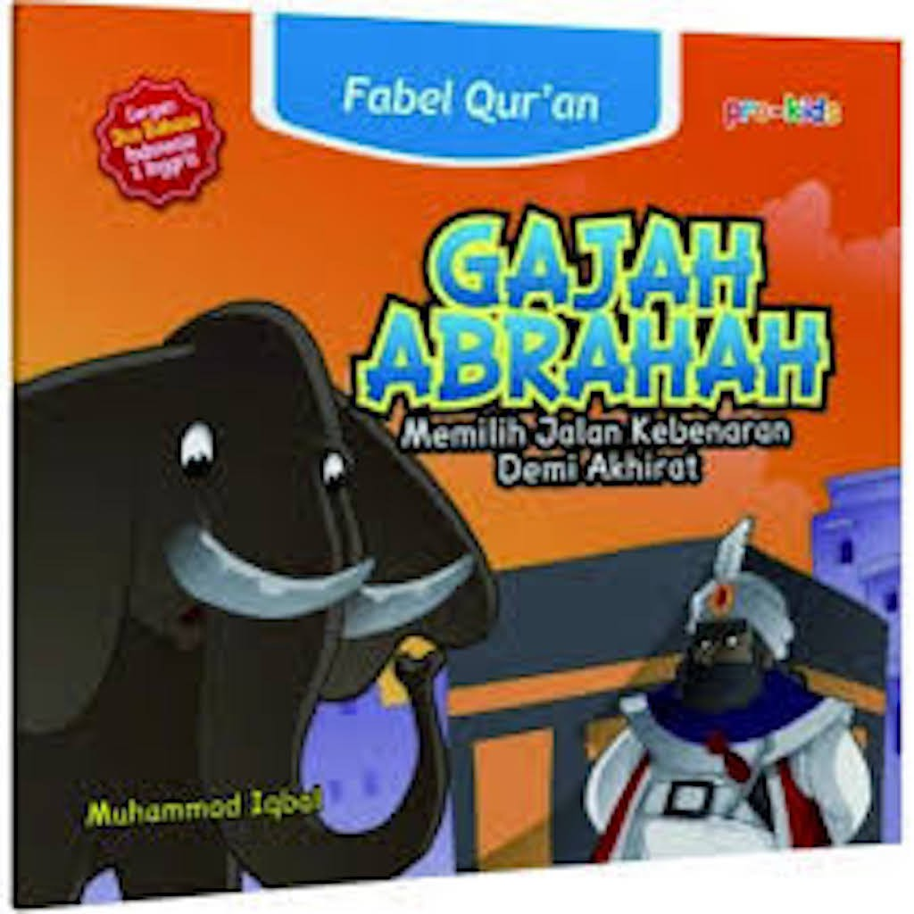 Fabel Qur An Gajah Abrahah Cergam Bilingual Shopee Indonesia