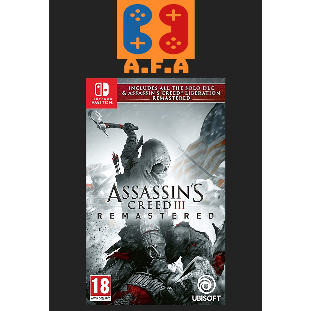 Assassins Creed Iii Nintendo Switch Game Shopee Indonesia