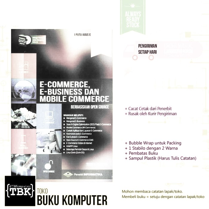 Termurah Original Bestseller Buku E Commerce E Business Mobile