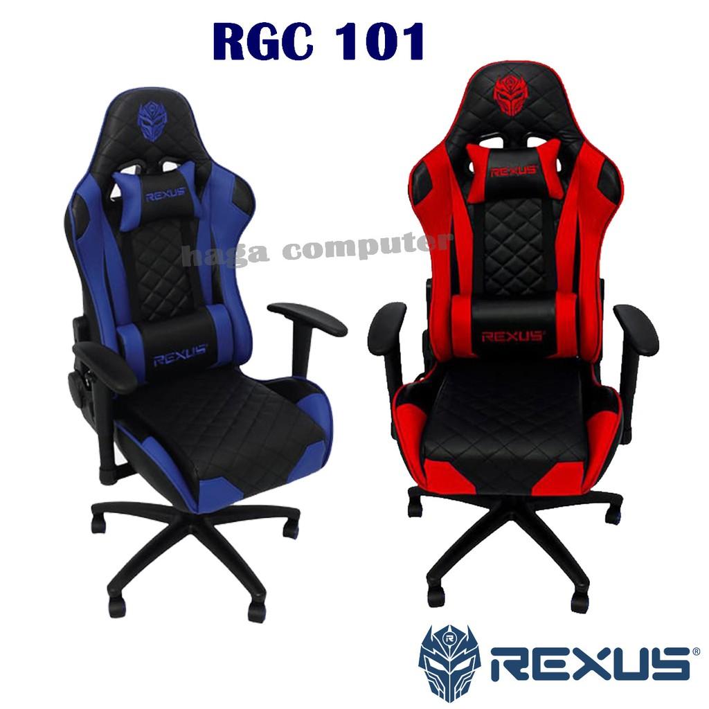 Rexus Gaming Chair - Kursi Gaming Rexus RGC 101 | Shopee ...