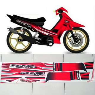 Striping Stiker Touch Plus Merah