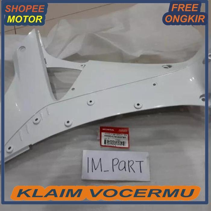 64400-KTM-850FMX Tebeng Sayap Dalam Supra X 125 Lama 2005 - 2006 Putih PART HONDA ORIGINAL