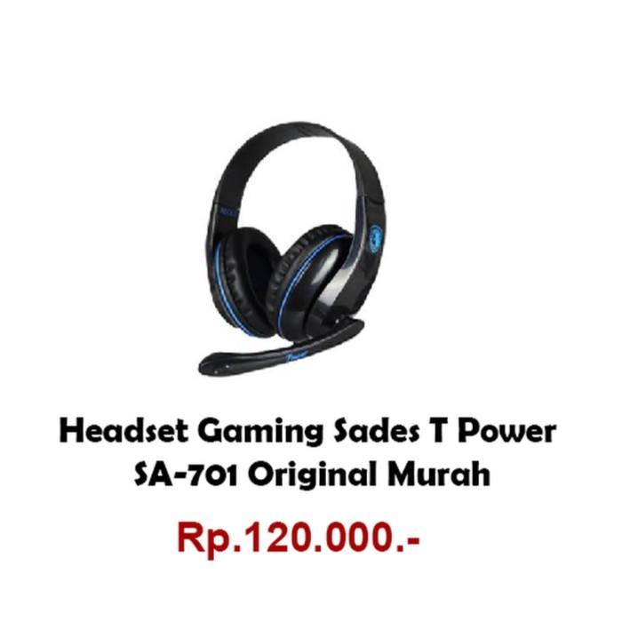 Headset gaming sades T-power SA-701 - Sades Tpower