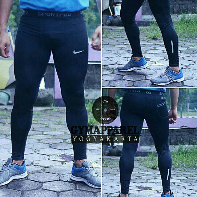 Celana Olahraga Legging Compression Tight Nike Unisex Legging Lari Senam Fitness Softball Renang Shopee Indonesia
