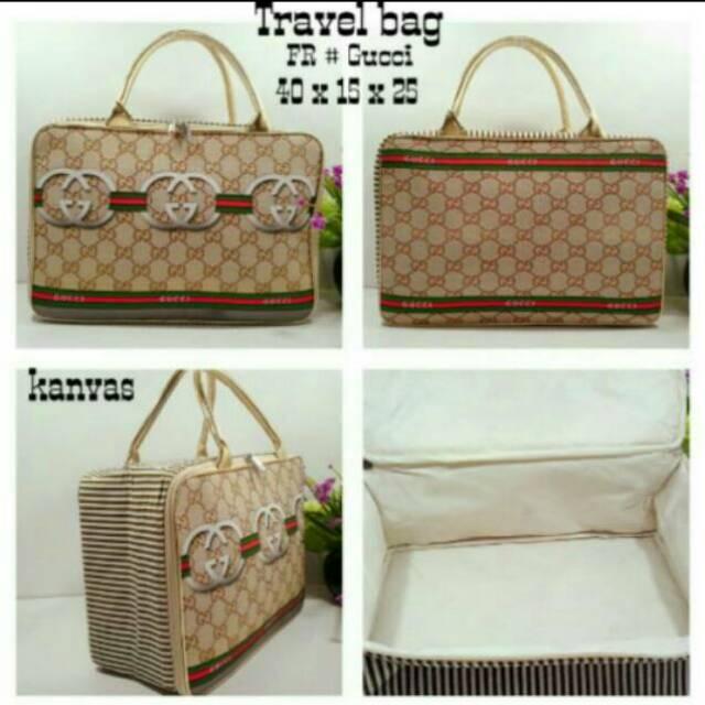 Travel bag kanvas Louis Vuitton LV / tas piknik jinjing renang louis vuitton | Shopee Indonesia